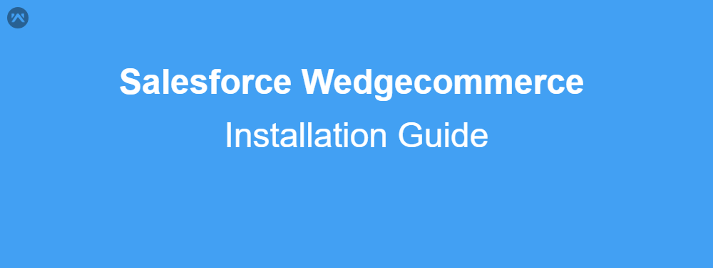 Installation of Wedgecommerce Application