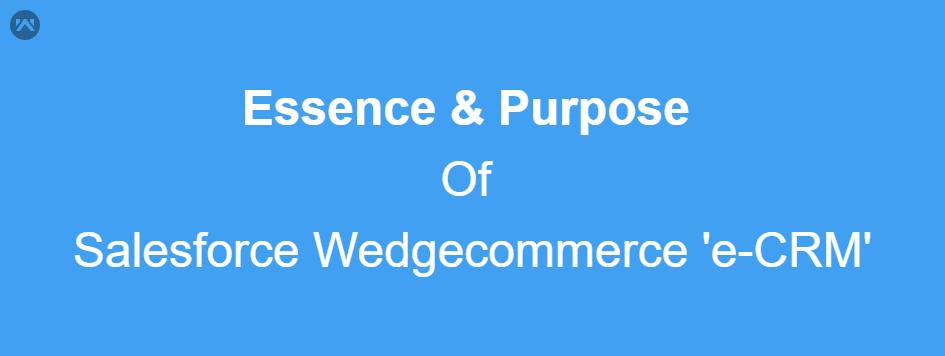 Essence And Purpose Of e-CRM