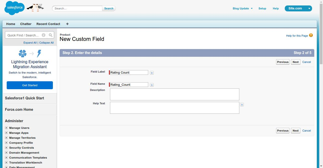 Roll Up Summary Field In Salesforce | WedgeCommerce