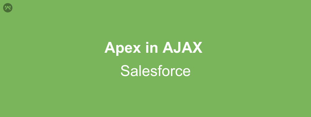 How to use Apex in AJAX Salesforce