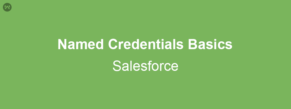 Named Credentials Basics